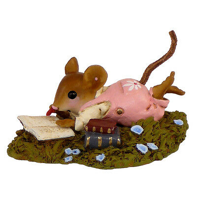 MEADOW MUSING by Wee Forest Folk, WFF# M-410, PINK