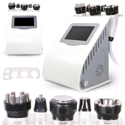 5in1 Unoisetion Cavitation2.0 40K 3D RF Radio Frequency Vacuum Slimming Machine