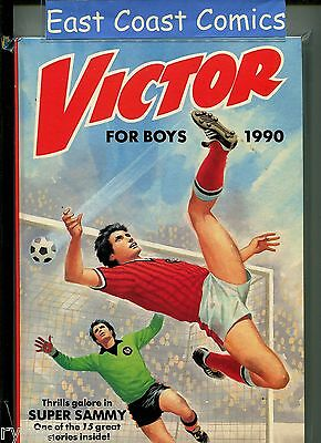 The Victor Book For Boys Annual 1990 - Near Mint