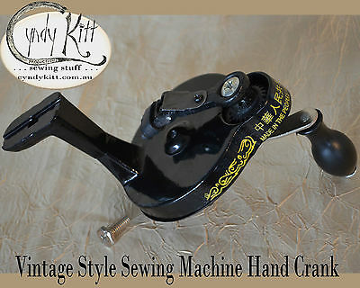 Chinese Hand Crank: Fits most Singer 15, 66, 99 and 201 class machines