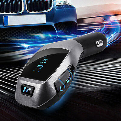 Car Kit Mp3 Player FM Transmitter X5 USB TF Charger Handsfree Wireless