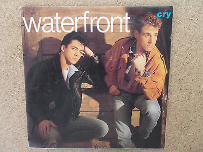 """Waterfront - Cry    (7"""" Vinyl)"""