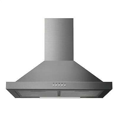 Igenix CHM60SS 60cm Chimney Cooker Hood Stainless Steel