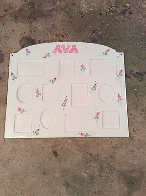 "Baby Collage Picture Frame  ""Ava"" (NEW)"