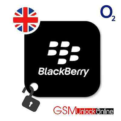 Network Unlock Code Service For Blackberry 9315 9320 9720 - O2 UK