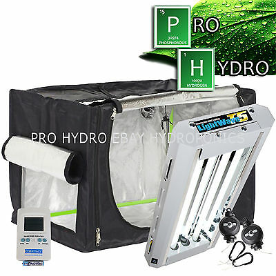 Hydroponic Propagation Kit GQ60 Tent Maxibright T5 Thermo Hygrometer Easy Rolls