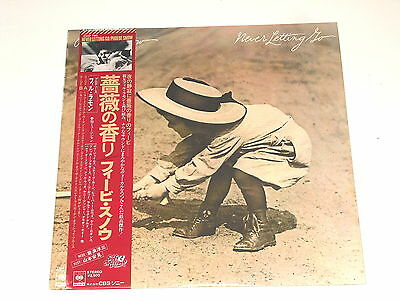 Phoebe Snow - JAPAN PROMO LP - Never Letting Go - CBS Sony 25AP 790 - 1977