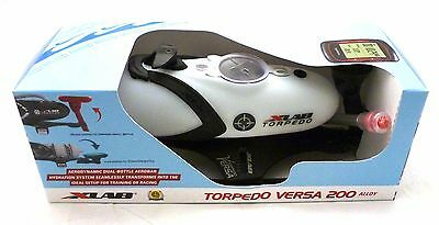 X-Lab Torpedo Versa 200 Alloy White Red Logo Triathlon Hydration System Xlab