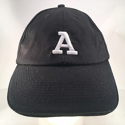 Arby's Black Embroidered Adjustable Employee Uniform Hat Cap