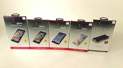 Zagg Invisible Shield HD Glass Screen Protector iPhone 6, 6Plus, Galaxy S6 S7