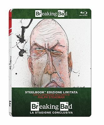 Blu Ray BREAKING BAD Stagione 06 - (Steelbook Limited Edition) (3 Blu-Ray) NUOVO