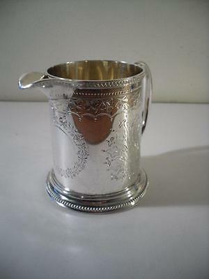 An Antique 'Walter & John Barnard' Silver Jug : London 1878