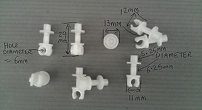 FIX8AAA   SINGLE 5mm BRAKE CLUTCH FUEL PIPE CLIP FIXING  LAND ROVER x15