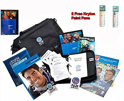 Padi Divemaster Crew Pack New 2016 Free Dixie Diver Hat & 4 Ft Surface Marker