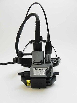 Alcon PurePoint LIO Laser Indirect Ophthalmascope Headset + Filter