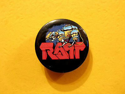 Ratt Vintage 1984 Badge Button Pin 1 1/4""