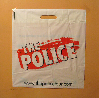 The POLICE +++ STING COLLECTABLES BAG POSTCARD PROMO PAMPHLET