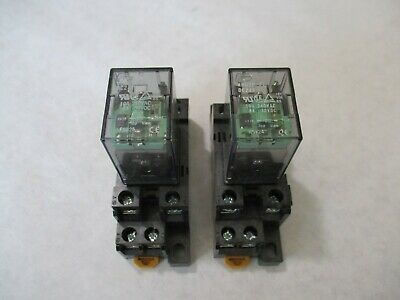 Nice Fuji HH62P-FL Cube Relay With Base (24 VDC)