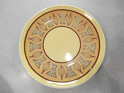 """LOT OF 4 Taylor Smith & Taylor Honey Gold Ironstone 6 3/4"""" Dessert/Bread Plate"""