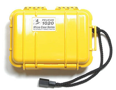 Pelican Micro Case 1020 Yellow, 1020-Y