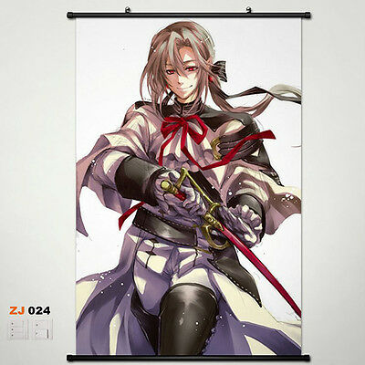 Seraph of the end OwarinoSeraph Wallscroll Stoffposter Wallposter 60x90cm 019
