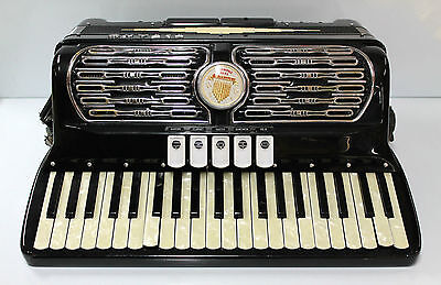 Titano Standard 120 Bass Piano Accordion Made in Italy