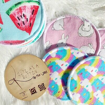 Reusable Breast Pads- Machine Washable For Nursing Mothers