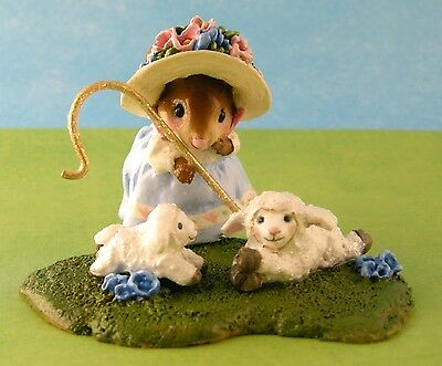 LITTLE BO PEEP by Wee Forest Folk, M-389x, Mouse Expo 2012 Event Piece