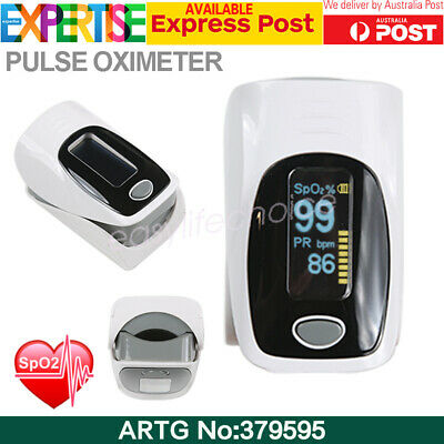 Fingertip Pulse Oximeter Blood Oxygen Meter SPO2 OLED Pulse Heart Rate Monitor