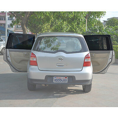 Universal Car Rear Side-Door Square-Window Sunshades by TFY