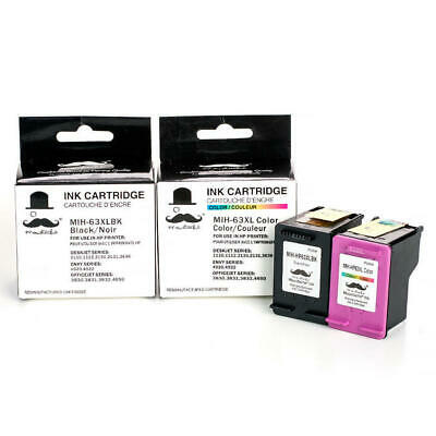 2PK ink for HP 63XL 1110 1112 2130 2131 2132 2133 2134 3630 3631 3632 3633 3634