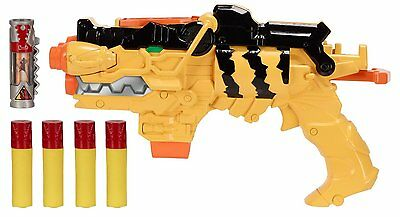 Power Rangers Dino Supercharge Battle Gear Missile Launch Morpher Toy