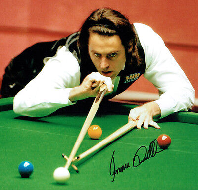Ronnie O'SULLIVAN Signed Autograph 12x12 Snooker Champion RARE Photo AFTAL COA