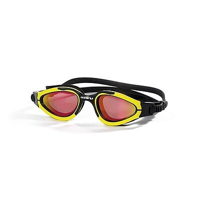 NEW Maru Groove Polarised Mirror Goggles-Yellow Black Red Gold