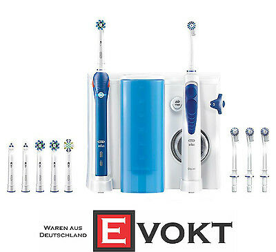 Braun Oral-B Oxyjet Cleaning System + PRO 3000 Toothbrush Oral Center Genuine