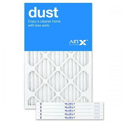 16x25x1 MERV 8 Pleated Filter - Dust Reduction