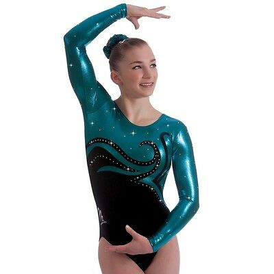 "Milano Pro Sport Gymnastic leotard 'Viennese 170624'  Sizes 26""-36"" - NEW"