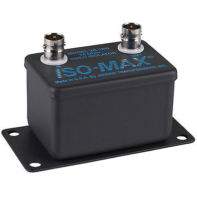 Jensen Iso-Max VB-1BB 75 Ohm BNC Composite Video Isolator