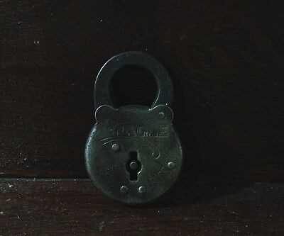 Antique Lock -- Eagle Six Lever