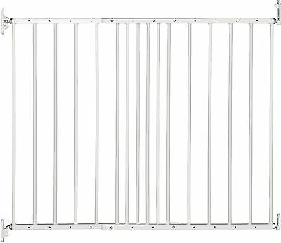 BabyDan Multidan Extending Metal Safety Gate White Adjustable Baby Stair Gate