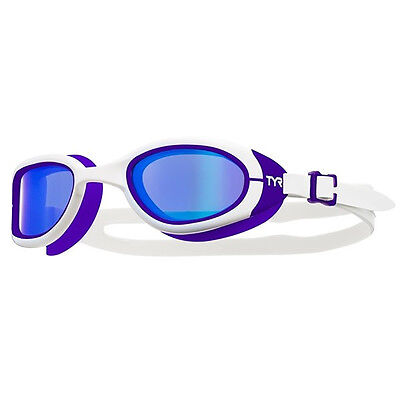 NEW TYR Female Special Ops 2.0 Polarized Swimming Goggles – White/Purple