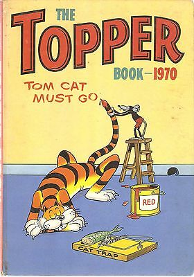 Topper Book 1970 D C Thomson Cartoon Characters HB BK Beryl the Peril Foxy Tiny