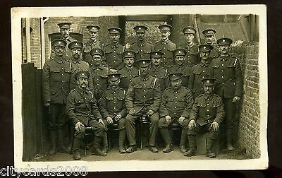 Military  MIDDLESEX REGIMENT ?  Group of Soldiers   RP