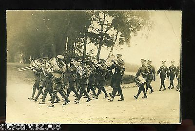 Military Middlesex Regiment ?Soldiers' Parade & Band  possibly Rhineland   RP #1