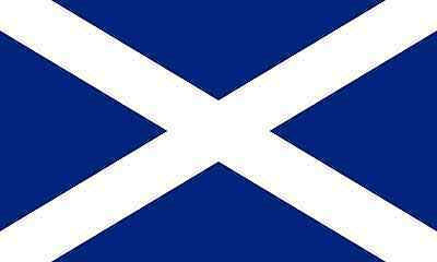 Scotland Saltire Large Flag 5ft x 3ft / 1.5m x 90cm 100% Polyester with Eyelets