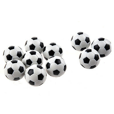 10pcs 32mm Plastic Soccer Table Foosball Ball Football PK