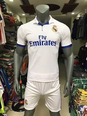soccer jerseys Real Madrid included shorts