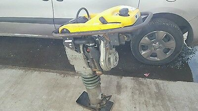 "wacker neuson trench rammer bs502 2011 YEAR 7"" JUMPING JACK COMPACTOR PLATE"