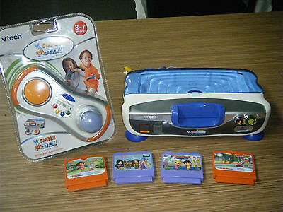 Vtech V.Smile V-Motion Active Learning System with Games & New Controller