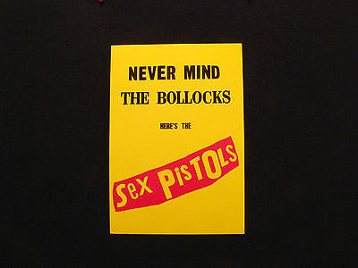 Sex Pistols Postcard Official New